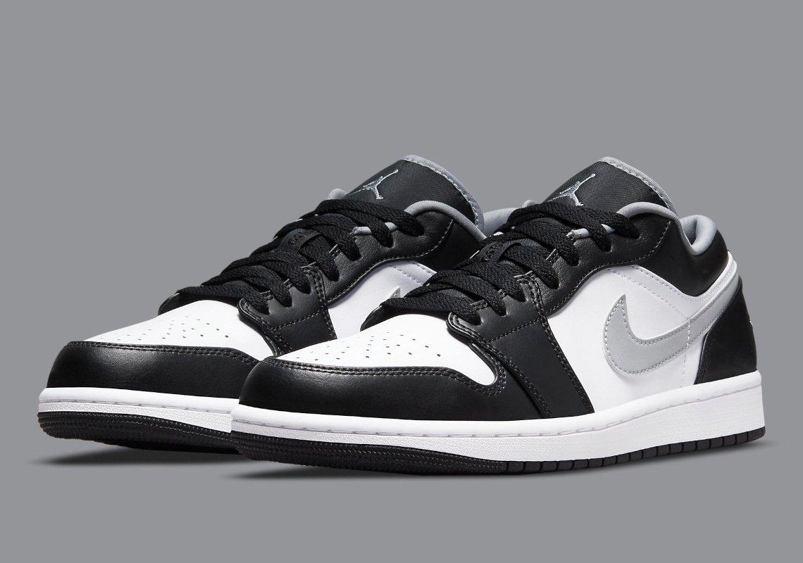 DIRECT LINKS Air Jordan 1 Low 'Black/Grey'  FNL: JD: