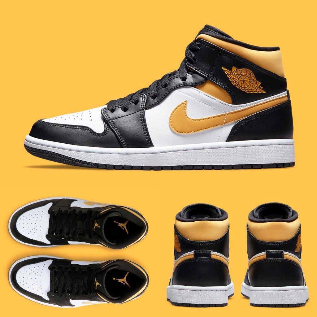 DIRECT LINKS Air Jordan 1 Mid 'Pollen'  FNL: JD: