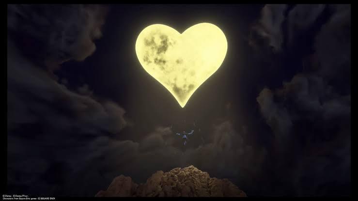 月が綺麗ですね  こんな夜はキーブレード戦争がしたくなりますね https://t.co/J2FgzODAu2