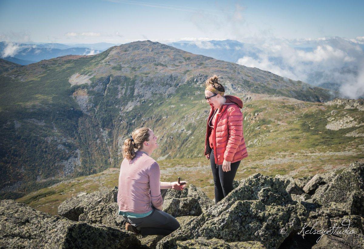 Sooooo I kinda got engaged on a mountain this weekend 😁