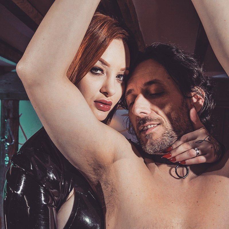 Posted @withregram • @joybearpictures Enjoy International Kinky Day 🔥 with @zaradurose and #davidhughes in Roleplay 💋 #joybear #confessionsofasoundgirl #zaradurose