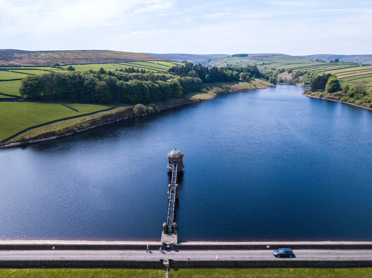 A reservoir can look like a tempting place for a dip, but it's extremely dangerous and potentially life-threatening. Reservoirs are cold and deep with strong currents, and no-one should enter, regardless of how strong a swimmer they are. Find out more: bit.ly/2Z9g8r8