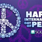 Image for the Tweet beginning: Happy International Day of Peace!  #InternationalDayofPeace