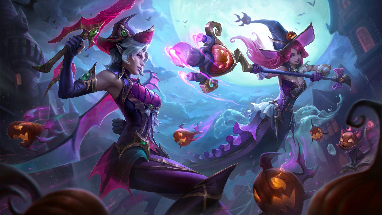 fiora nami skin halloween