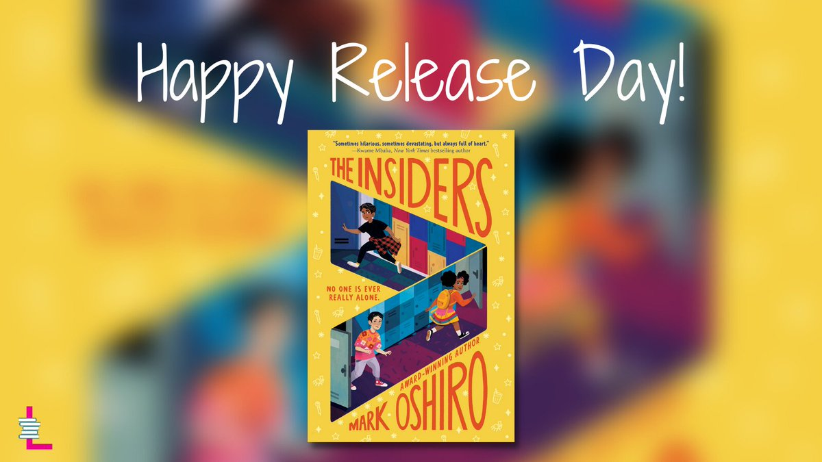 Happy #bookbirthday to The Insiders by @MarkDoesStuff! 🥳