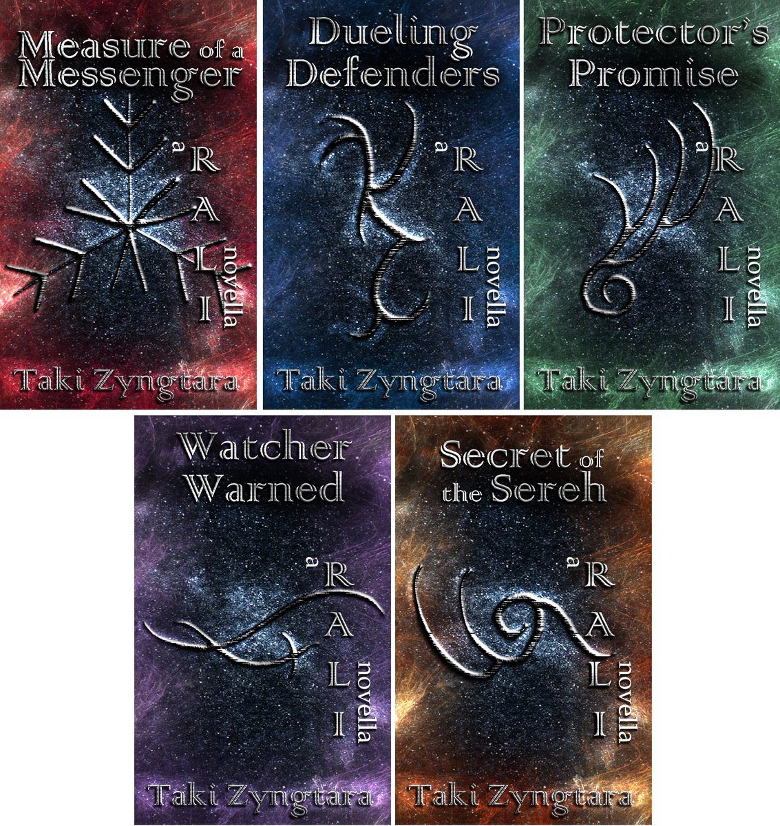 Made a cover set for the RALI series novellas 😊 #bookcovers