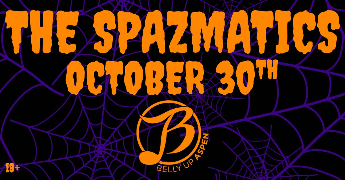 Ring in Halloween with an 80's dance party! Tickets: bit.ly/3lGQ0eP