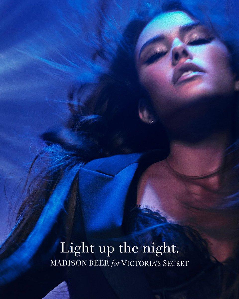 Light up the night. Introducing Tease Candy Noir Eau de Parfum from Victoria's Secret Beauty featuring @madisonbeer. Shop Now: https://t.co/LA6KrGIAwD https://t.co/p6da3ozFkz