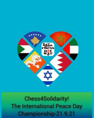 بيوم السلام العالمي واحتفاء بالاتفاقات الابراهيمية يتم هذا المساء احياء مسابقة