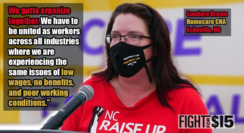 With worker power, we can make these employers address our issues on the job. #Fightfor15 #UnionsforAll