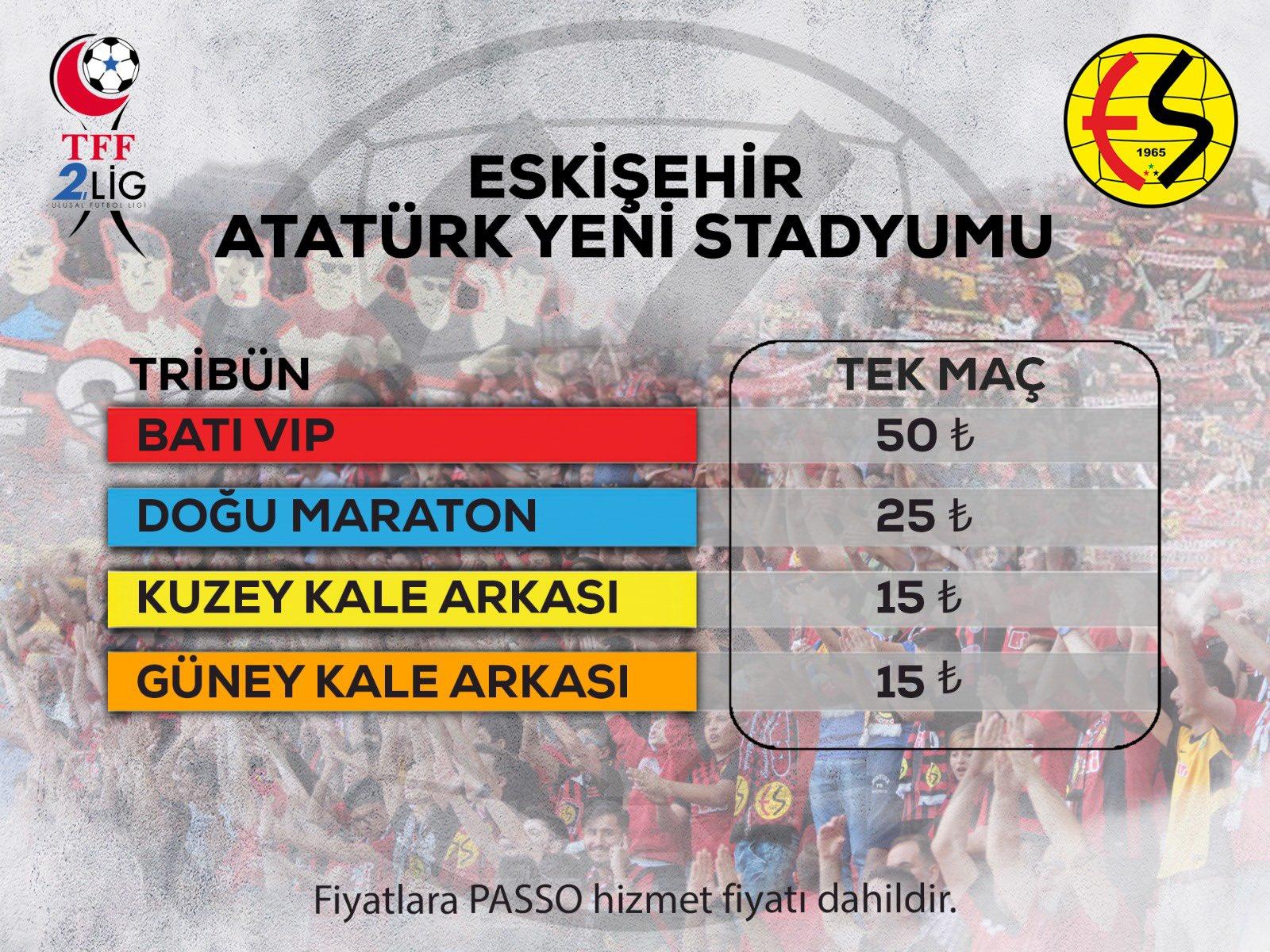 İşte Pazarspor maçının bilet fiyatları