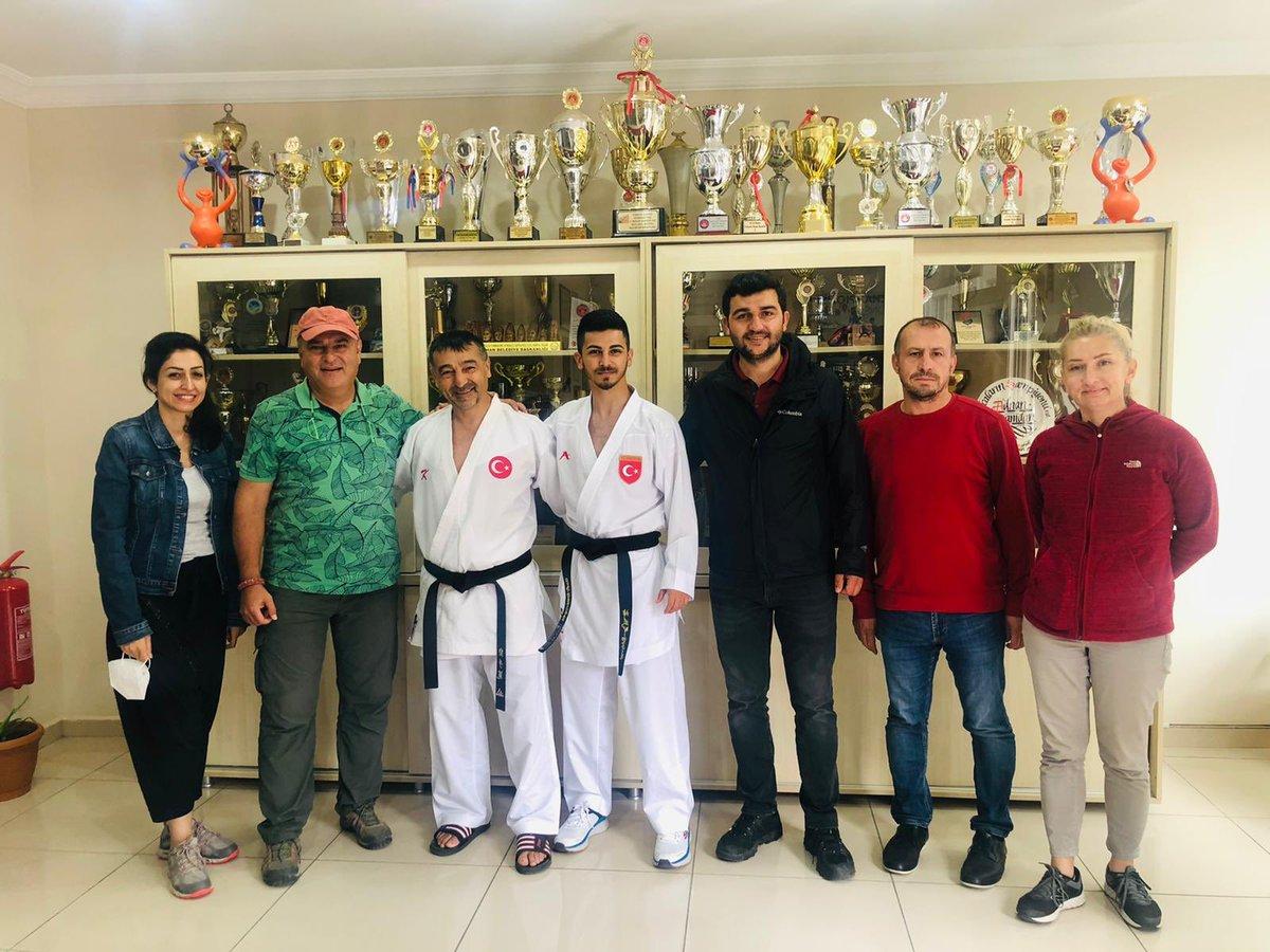 Olimpiyat 2. si Milli Karatecimiz Eray Şamdan ile çekim hatırası #Tokyo2020  #gebze