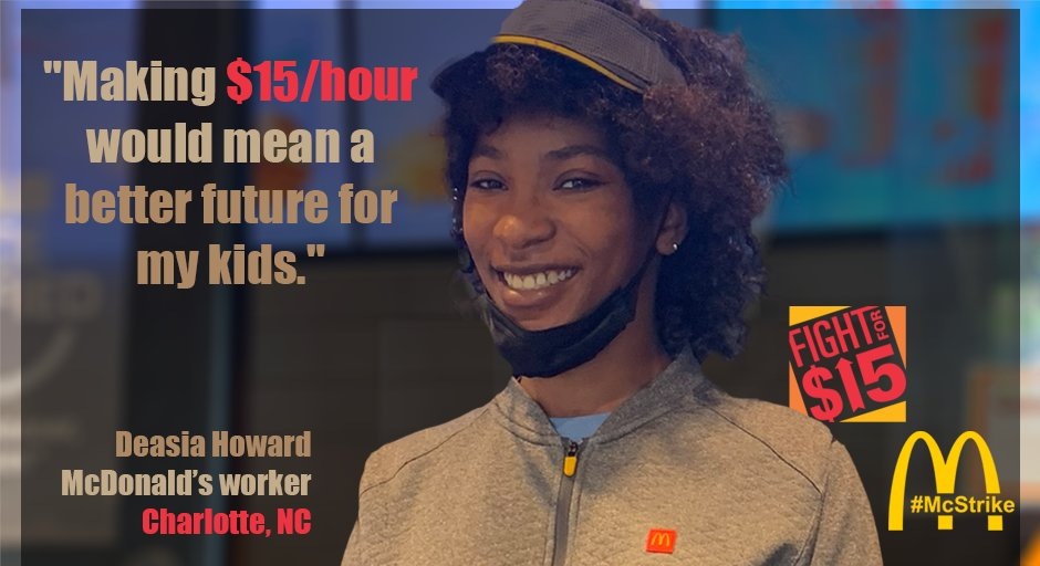 $15 an hour is just a part of what we are organizing towards. #Fightfor15 #RaisetheWage #UnionsforAll