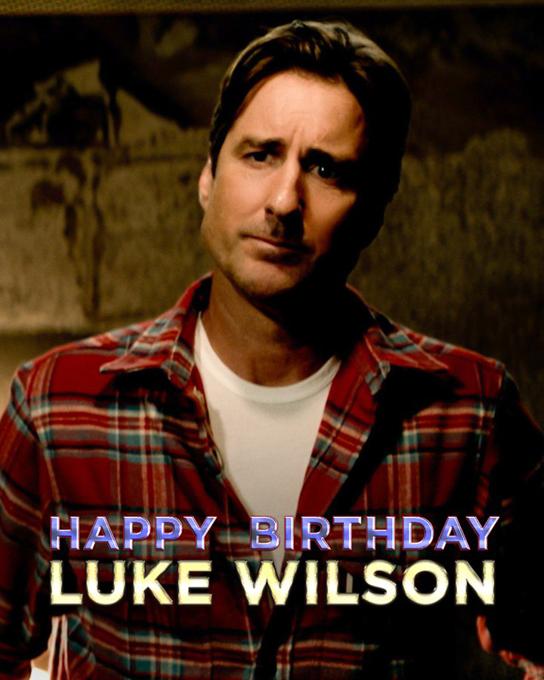 Happy Birthday Luke Wilson, who is 50 today!