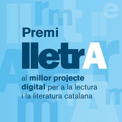 Image for the Tweet beginning: El premi Lletra 2021 és