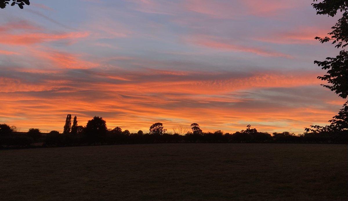 Sunset, N Yorkshire