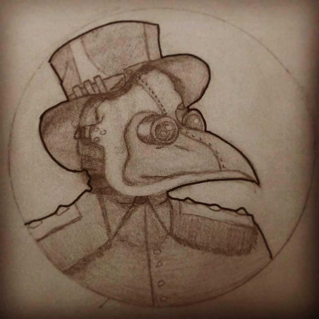 A veces hago dibujos #dibujo #art #drawing #Argentina #indie #AmateurHour #steampunk #diseño