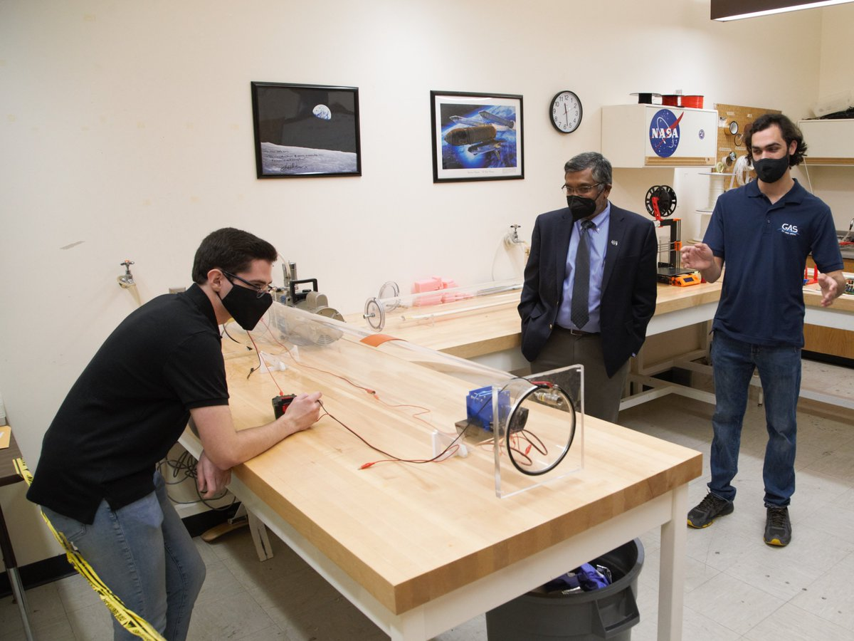 The project is part of the @NASA CubeSat Launch Initiative. https://t.co/rIcY9fnalN