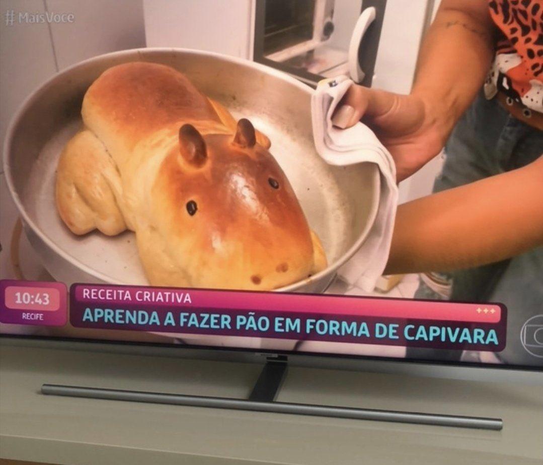 Capybara bread
