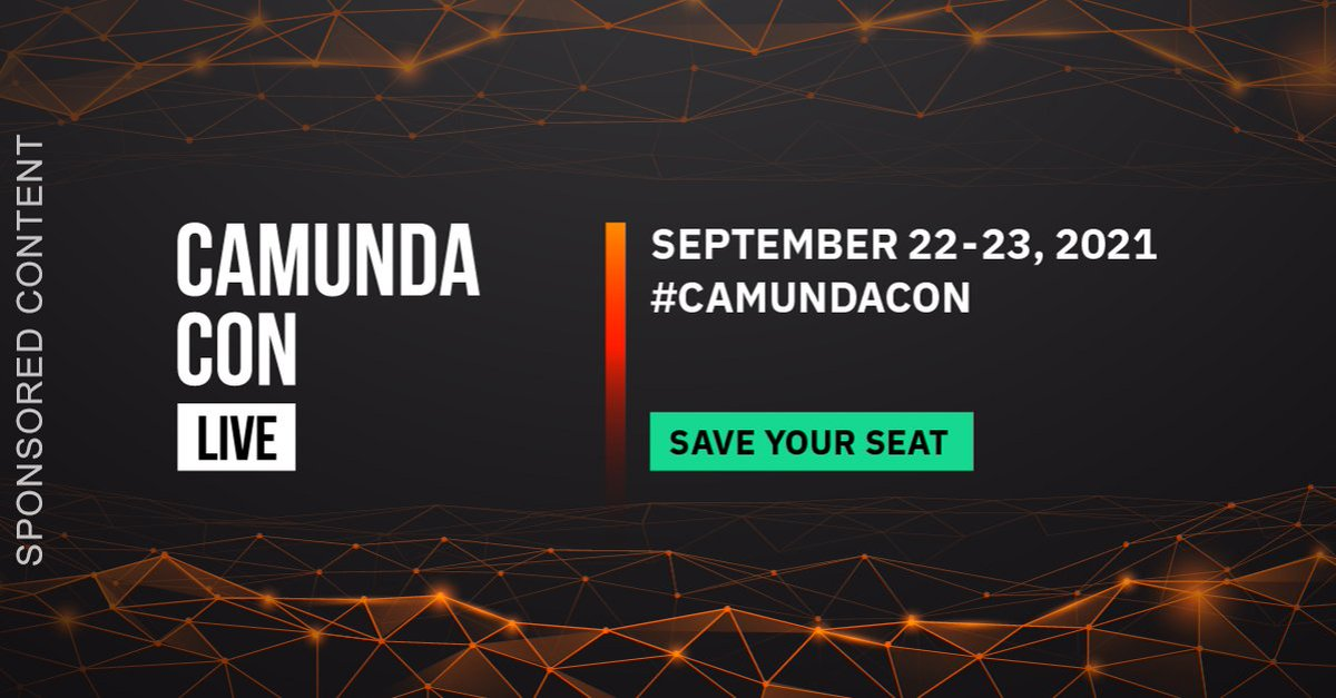 Unsure how to take your #processautomation program to the next level? Itching to know how the most competitive organizations are staying ahead? Curious about #Camunda products and new releases? Join us TOMORROW for #CamundaCon: bit.ly/3tmCErB @Camunda sponsored