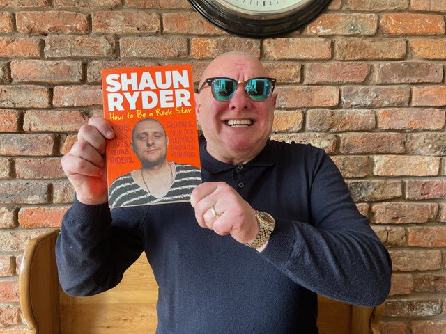How To Be A Rock Star offers a backstage pass to the rock 'n' roll lifestyle, from recording that first demo to headlining Glastonbury 🤓 📚 Out 7th October - pre-order: amzn.to/3gYYxYe #ShaunRyder #SWR #HappyMondays #BlackGrape @AtlanticBooks @AllenAndUnwinUK