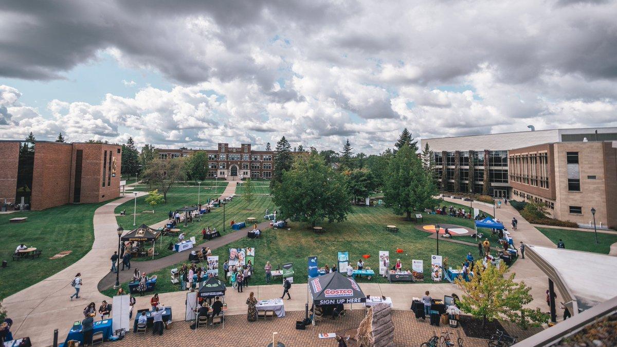 A great conclusion to 'Jacket Fest: Student Involvement & Part-Time Job Fair. Over 50 external employers & community par...