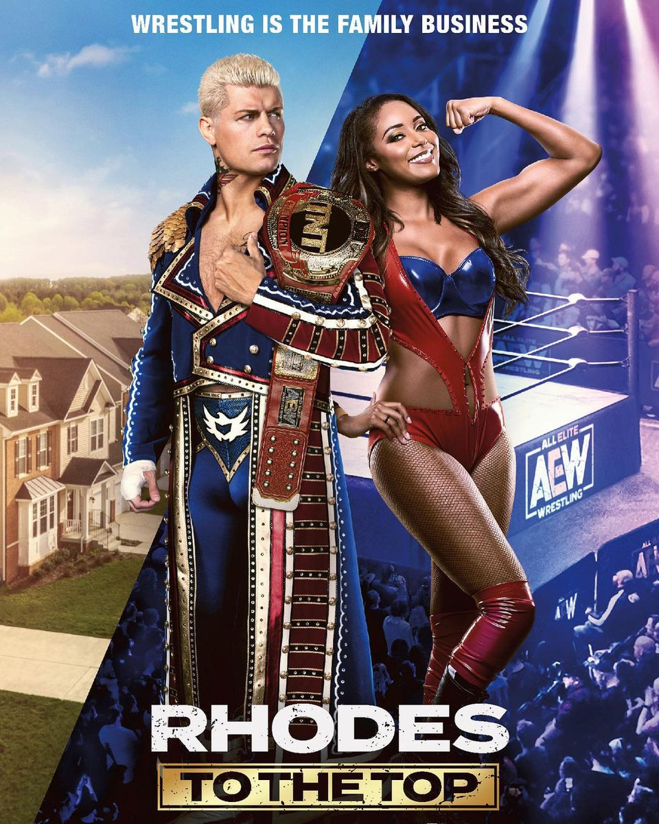 You think you know the Nightmare Family? Think again 👀 Don't miss the premiere of Rhodes to the Top NEXT WEDNESDAY at 10/9c right after #AEWDynamite