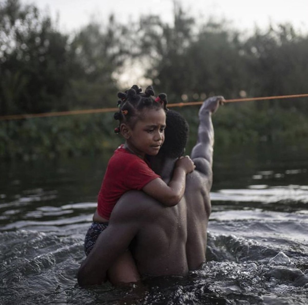 Haitians at our borders deserve asylum — PERIOD. and we are owed so much more. billions of dollars. I feel angry — it's a constant emotion — we have been robbed for centuries. I call on our great ancestors to aid & assist. This country would have us sink into ocean. 👏🏿🇭🇹