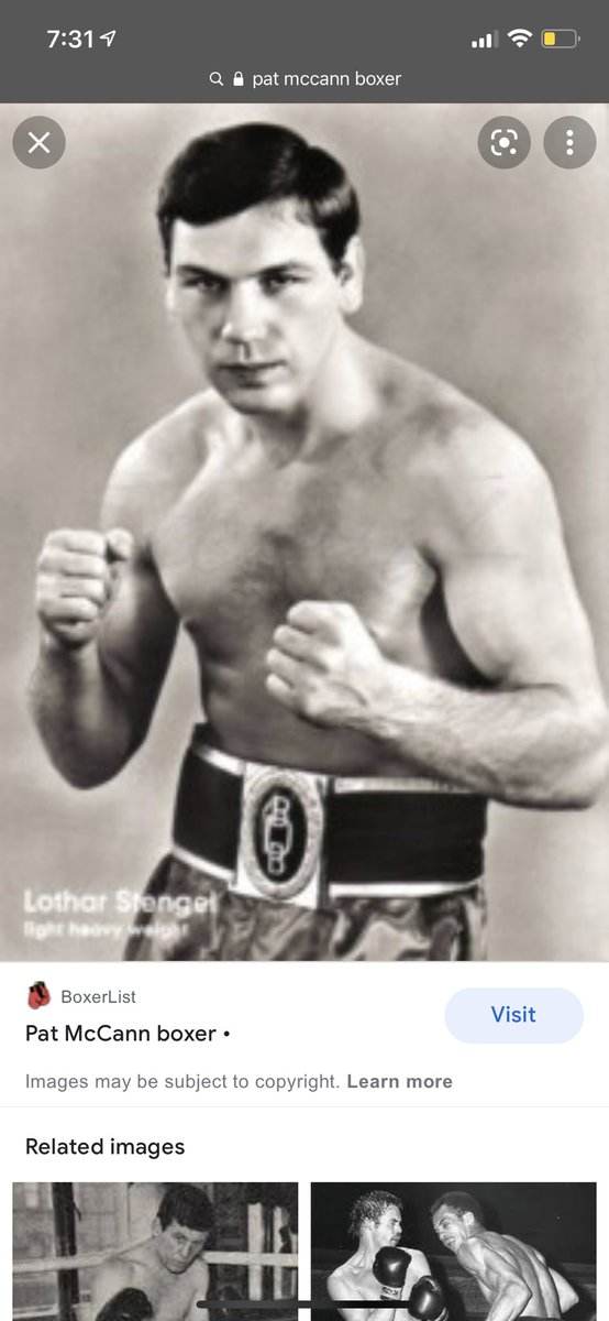 Pat Mccan British champ number one up north in jail with my uncle Robbie Meredith and dad.. got big friends with them after pat lasting less than 30 seconds with my old man in a fight in HMP lartin, love here the old memories 🤣❤️