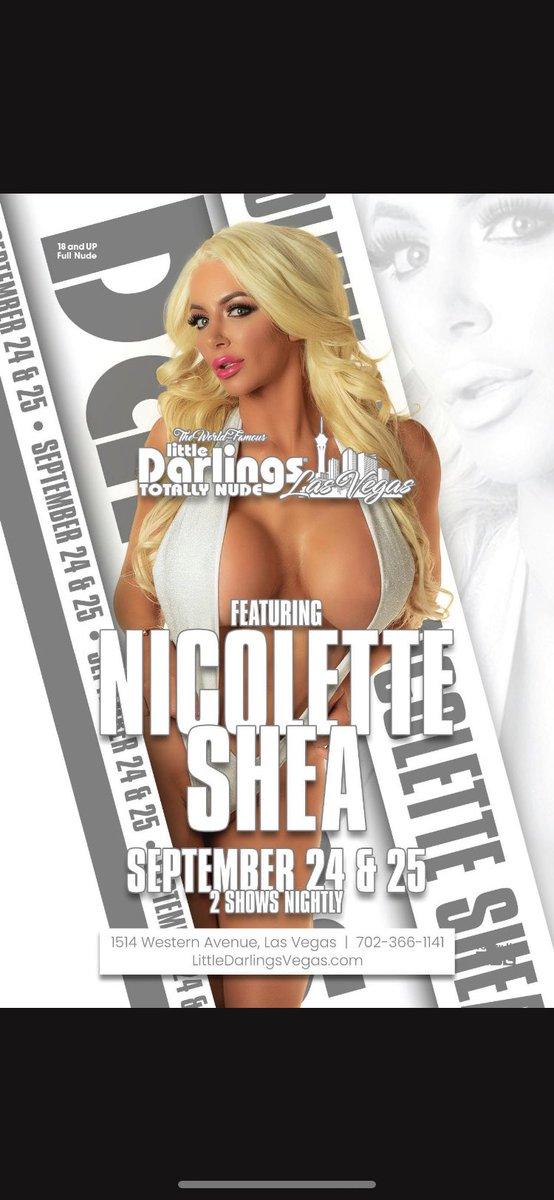 Nicolette Shea will be in Las Vegas this weekend! 🔥
