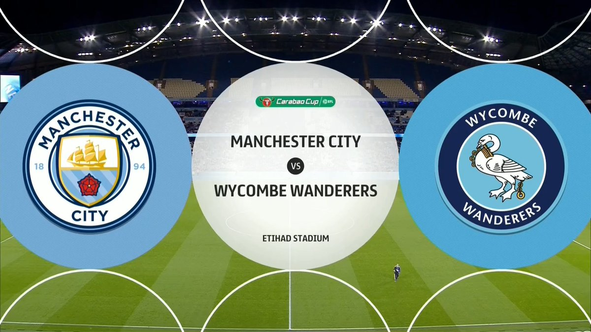 Full match: Manchester City vs Wycombe Wanderers