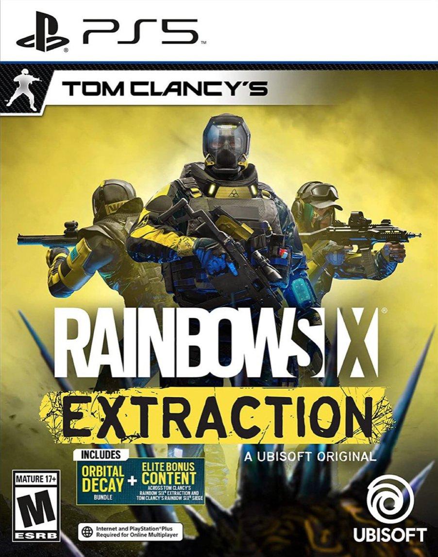 Tom Clancy's Rainbow Six Extraction PS5 $59.99 Amazon