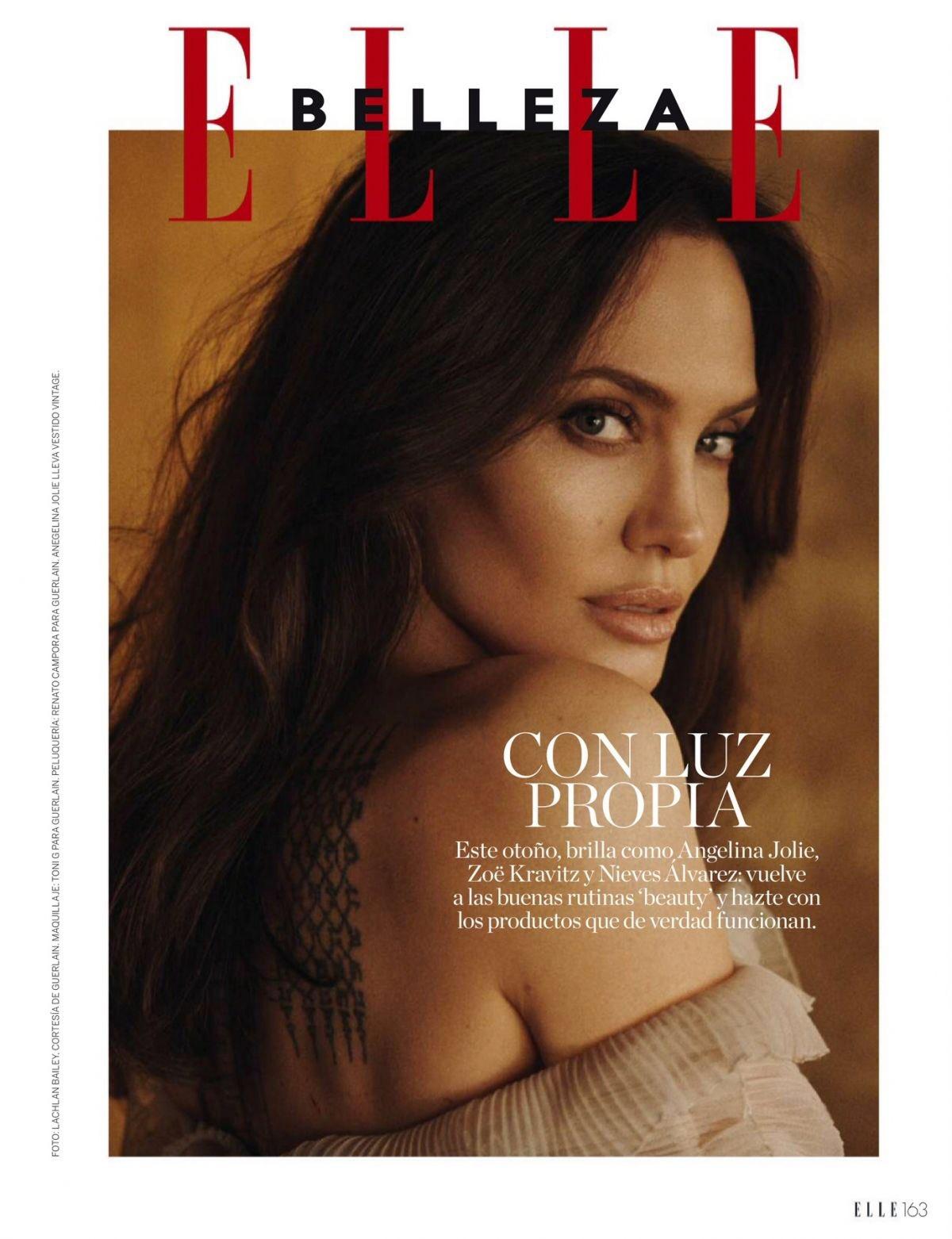 "Angelina Jolie on Twitter: ""🆕 Angelina Jolie in Elle Magazine, Spain October 2021 👏🏻😍❤️ https://t.co/rFPU6B0JLG"" / Twitter"
