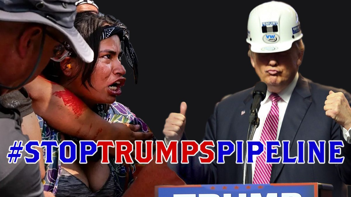 #StopTrumpsPipeline is trending 18 in the USA right now.  Let's send it to #1  https://t.co/smyurZ8PLp