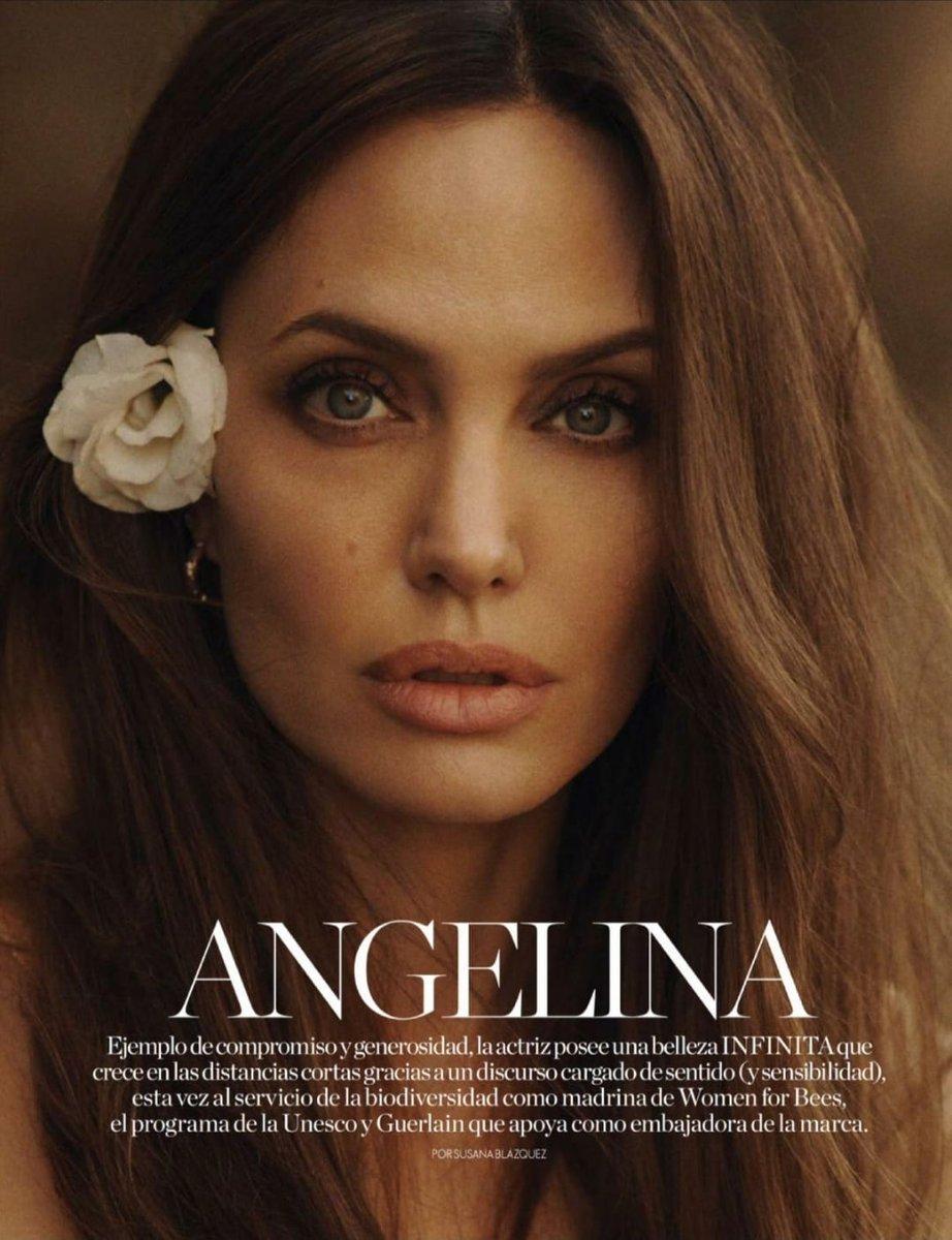 "Angelina jolie content on Twitter: ""NEW 📸 | angelina jolie for Elle Magazine spain october 2021… """