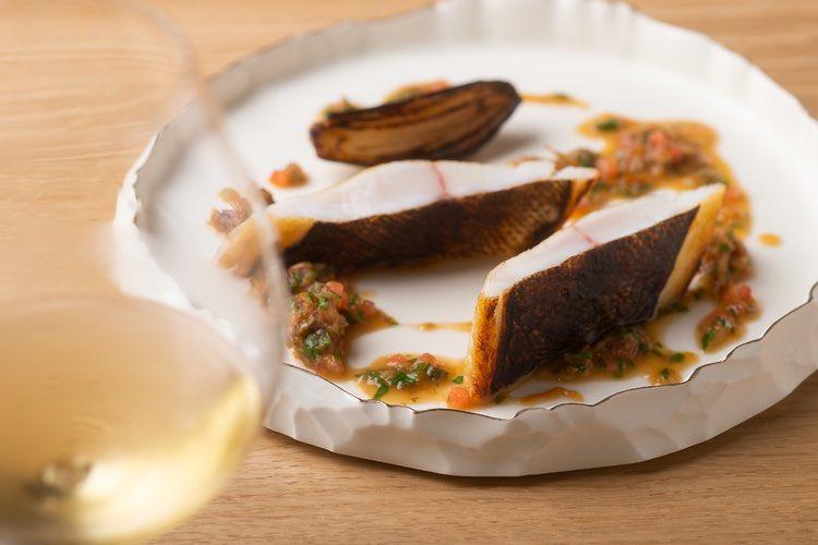 デザートを抜いた7品中、なんと5品が魚料理。垂涎必至の新店をご紹介!🐟🐟🐟三つ星レストランのスーシェフが独立! お魚愛に溢れたフレンチを【NéMo】|ニュースな新店