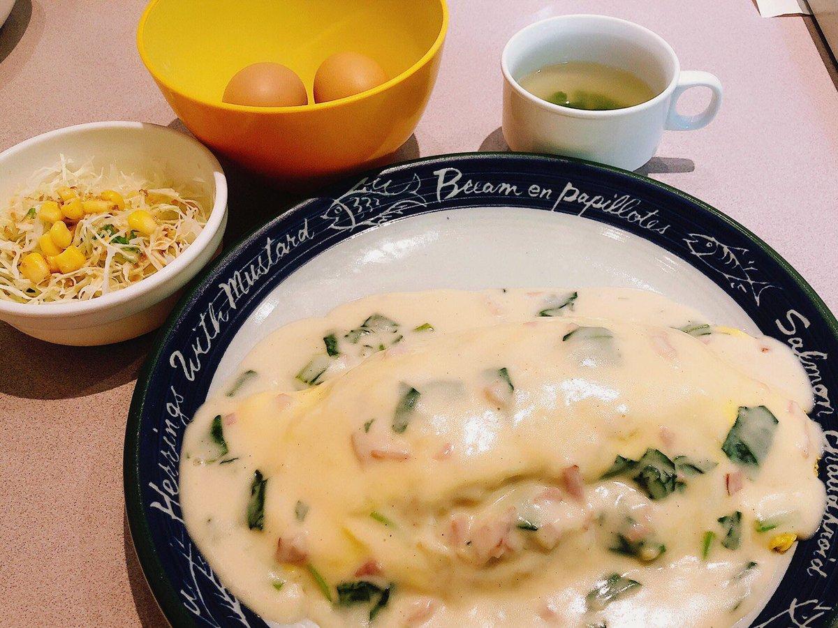 『 らんらん 』茹で卵食べ放題と聞き、レッツゴー🤩この店はオムライスが人気✌️茹で卵が旨くて何個も食べてしまった。。オムライスきたら並でも普通にデカイ‼️だけどマジ旨い😋茹で卵はほどほどが吉🏋️♀️0573-48-3090岐阜県恵那市上矢作町漆原123