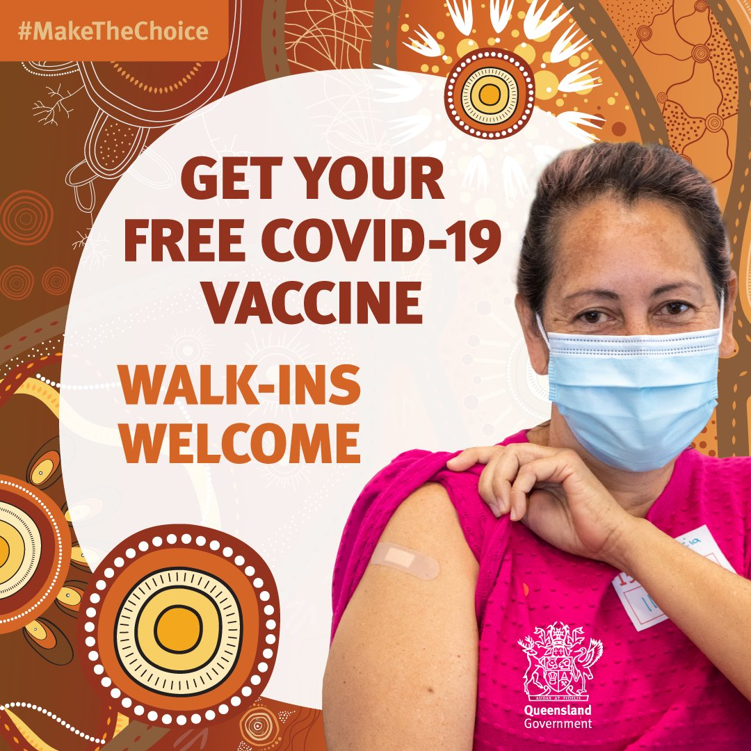 Walk-ins are welcome at our #Gympie Civic Centre COVID-19 vaccination centre throughout these school holidays. Everyone aged over 12 is eligible for vaccination. @whatsoningympie @GympieRegion @gympie_times @GympieCooloola @NCACCHBirtinya @OurPHN @MySunshineCoast