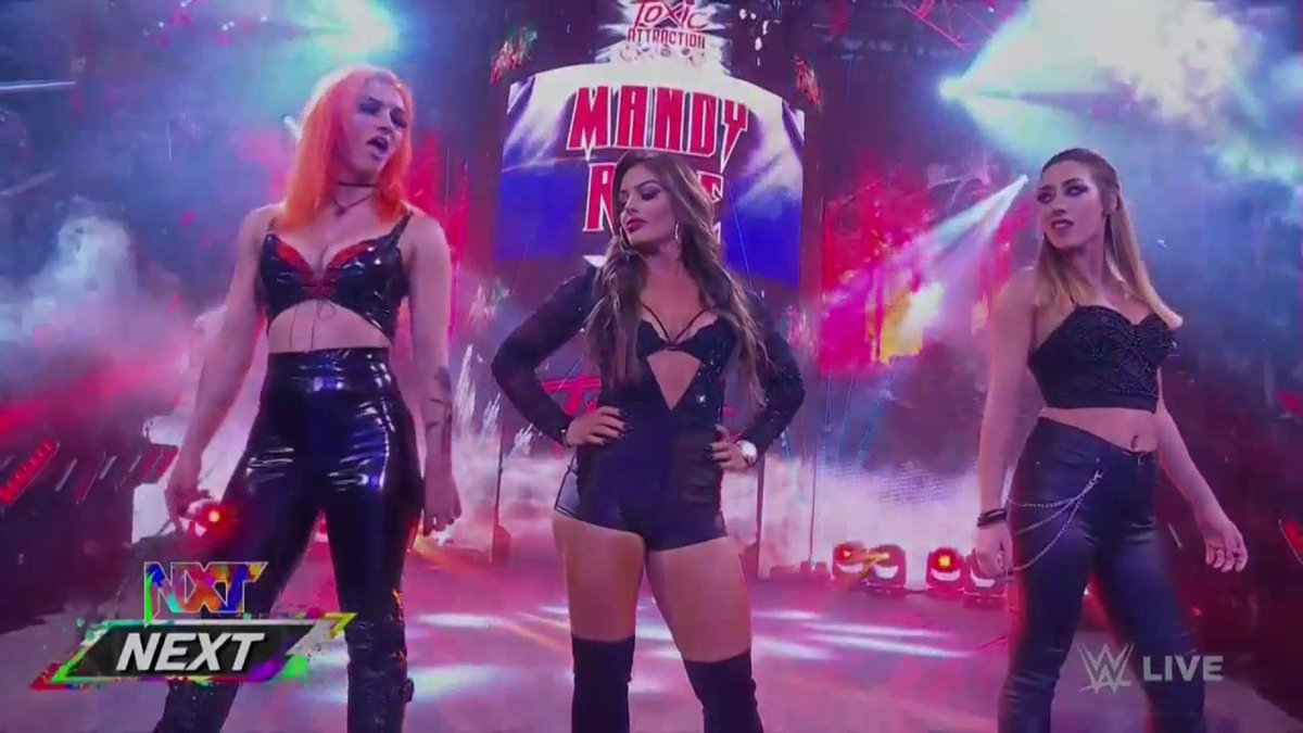 RT @WWEonFOX: Perfection. #WWENXT https://t.co/2R1J3Z6YCT