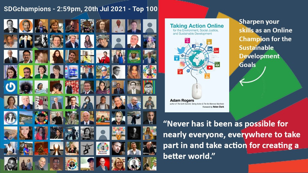 The SDGinfluencers leadership list is out now! See the full list of all 256 #SDGinfluencers at connectaid.com/en/summits/sdg….  Only 27 days to the Big Climb of #Kilimanjaro for #VaccineJustice!  Follow @climb_big to get involved and to organize your own climb!