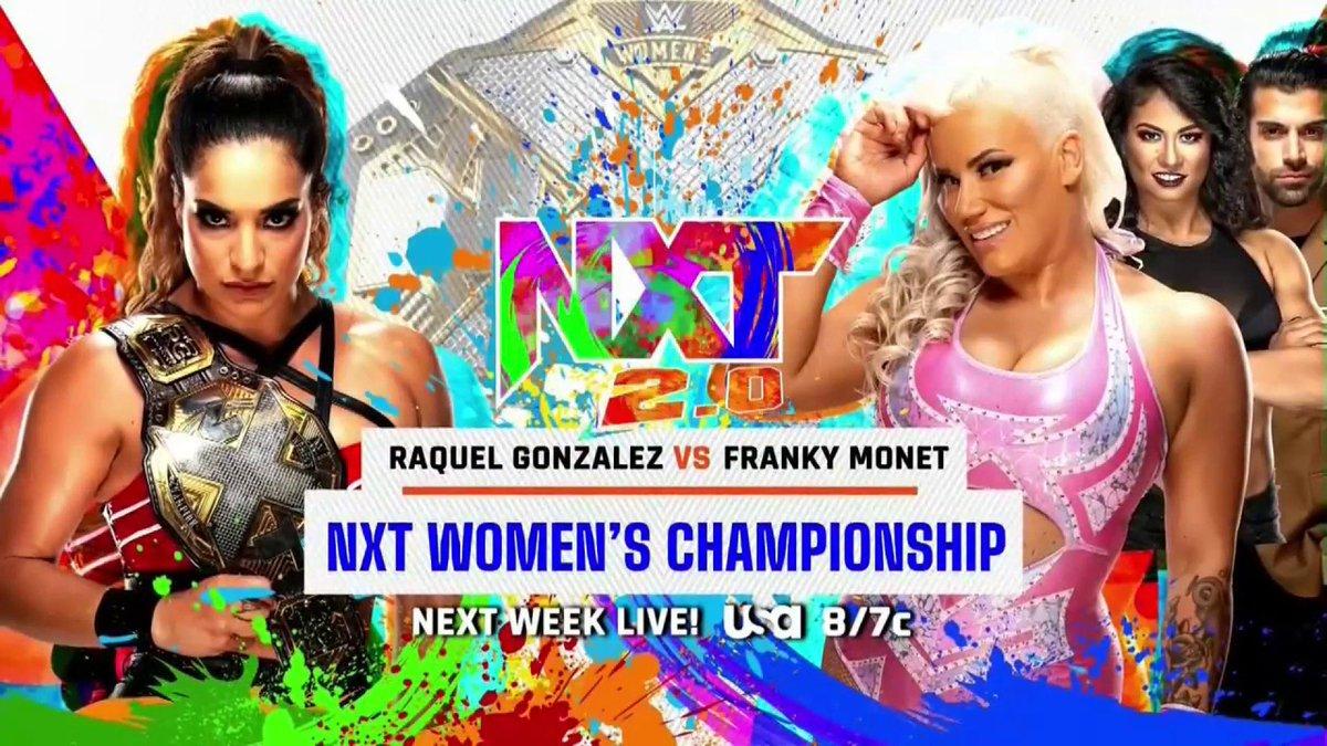 Three Title Matches & InDex Honeymoon Set For Next Week's NXT