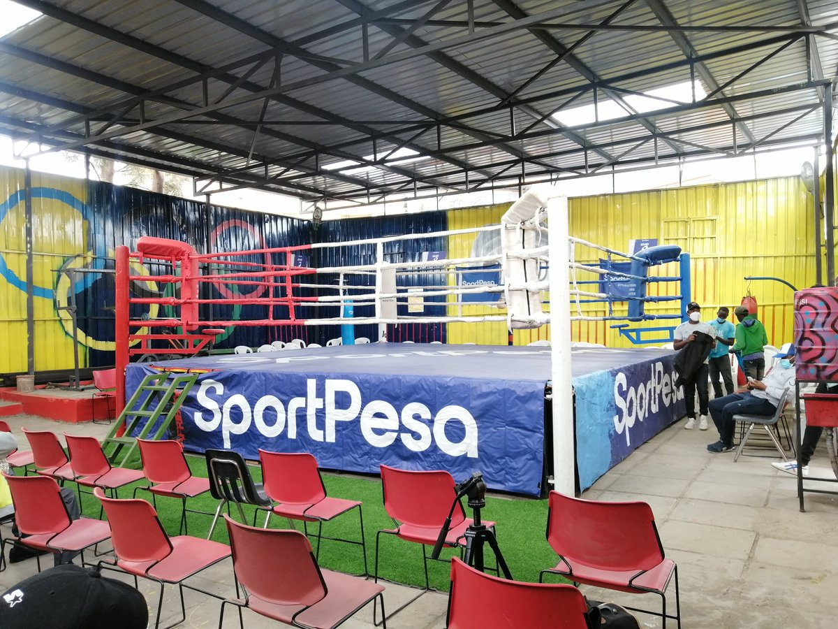 """SportPesa Kenya on Twitter: """"Umoja boxing gym upgrade. 🔥 Sports have  always been at the heart of what we do. ❤ #TuendeleeNaSportPesa  #SportPessMakeItCount… https://t.co/AkAnTojmzg"""""""
