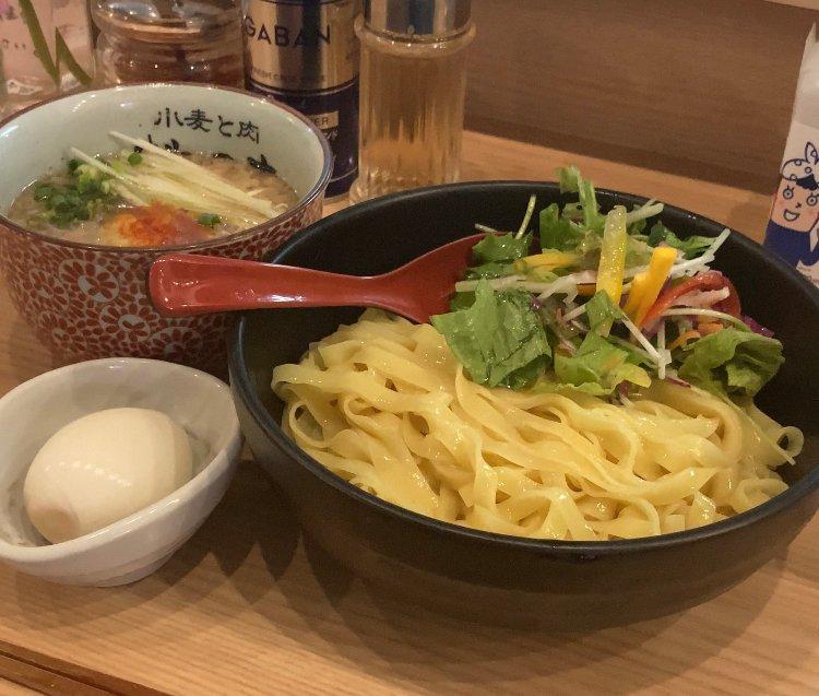 新宿で人気のつけ麺屋さんへ行ってみた(゚∀゚)  #tabelog