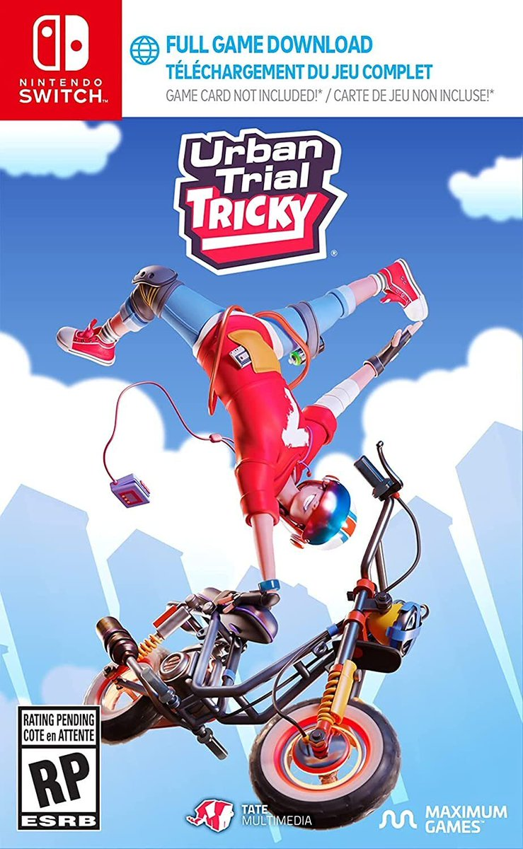 Urban Trial Tricky (Switch) is $12.15 on Amazon:   lowest price ever