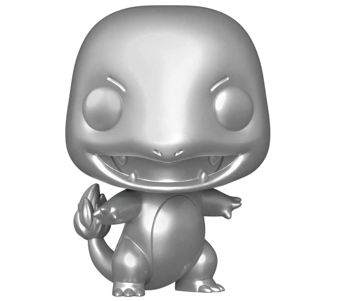 Funko Pop! Games: Pokemon - Charmander (Silver Metallic) $8.79 via Amazon (Prime Eligible).