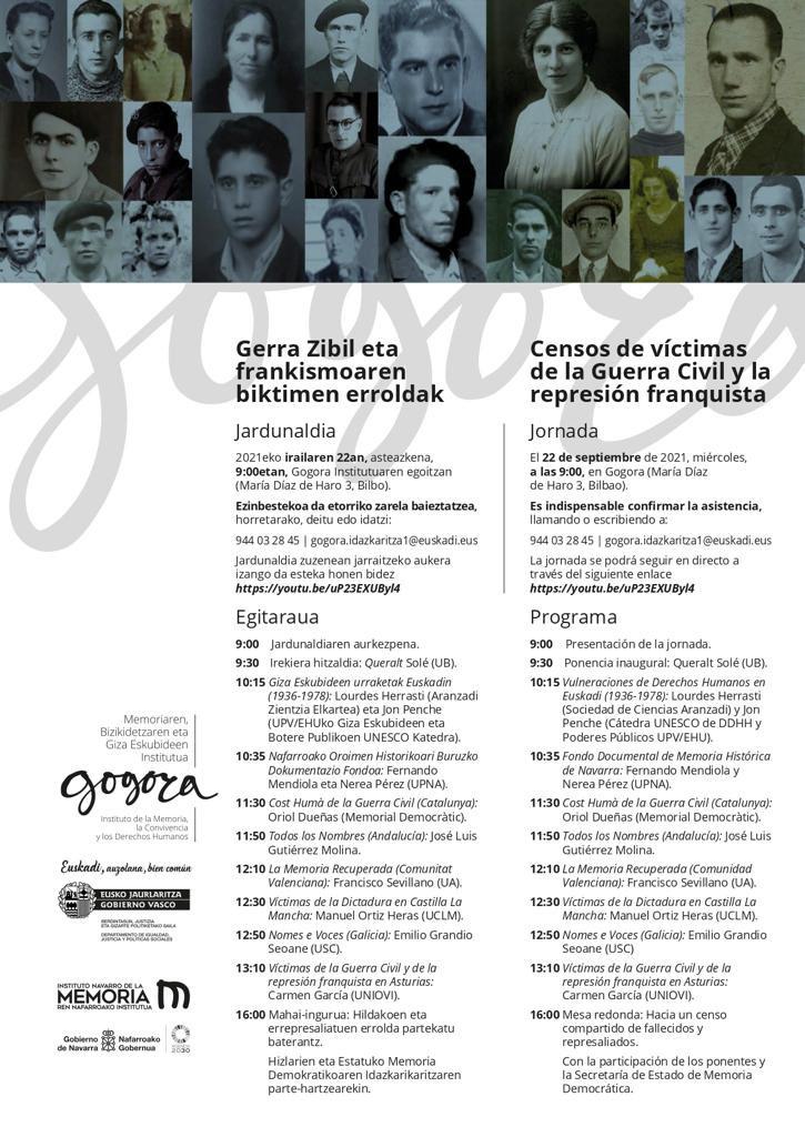 Els professors de la Secció @QBru i @OriolDuenas avui son a Euskadi: