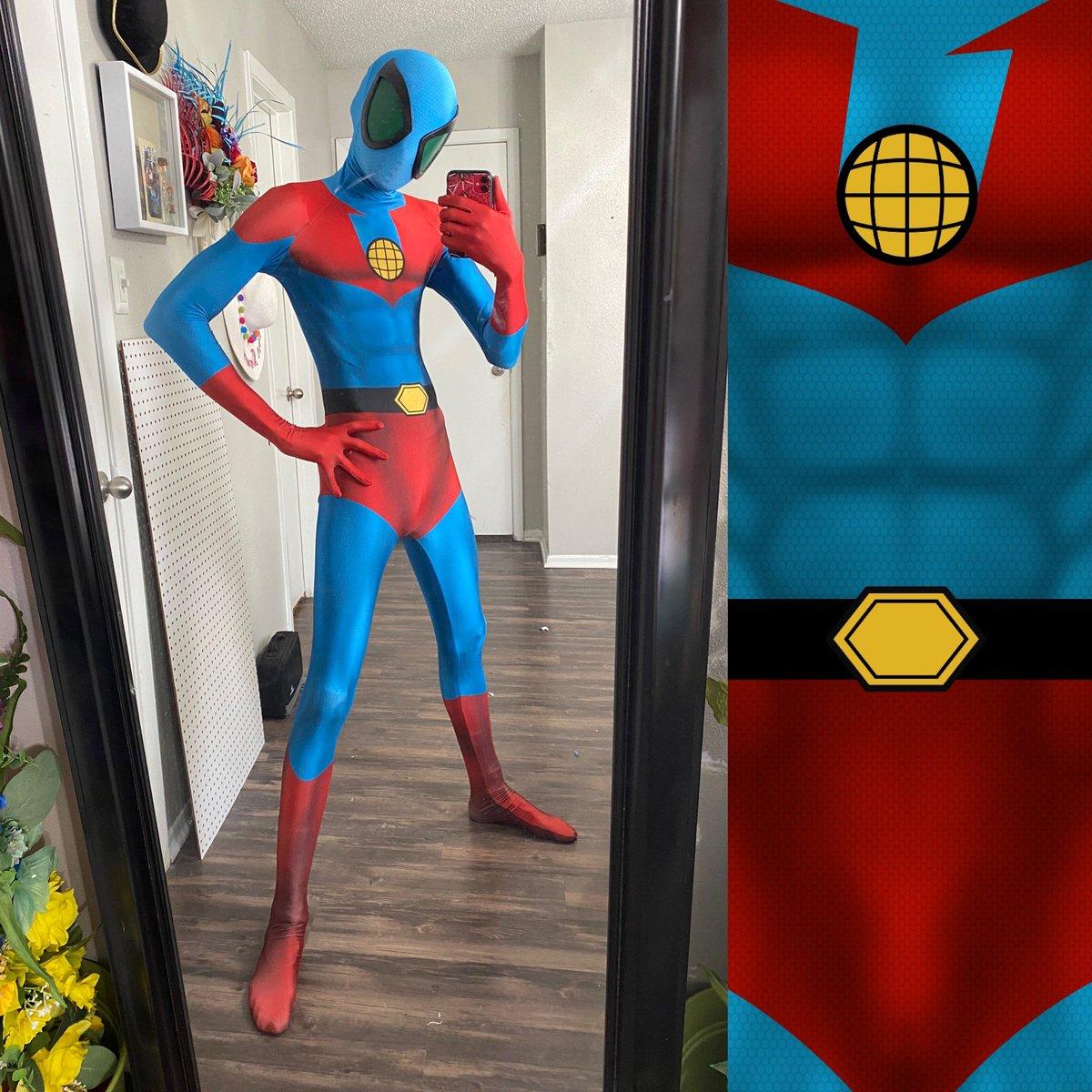 RT @SpideyWuu: Captain Planet Spider-Man #spiderman #spidersona #captainplanet #spiderverse https://t.co/SlMN390LA3