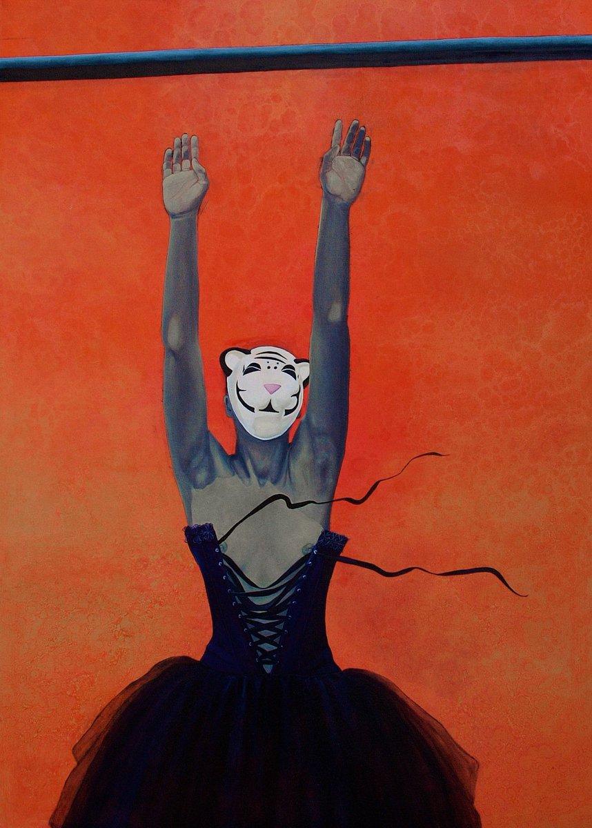 Amy Sherald, Maybe if I wore a mask, 2009 #WomensArt