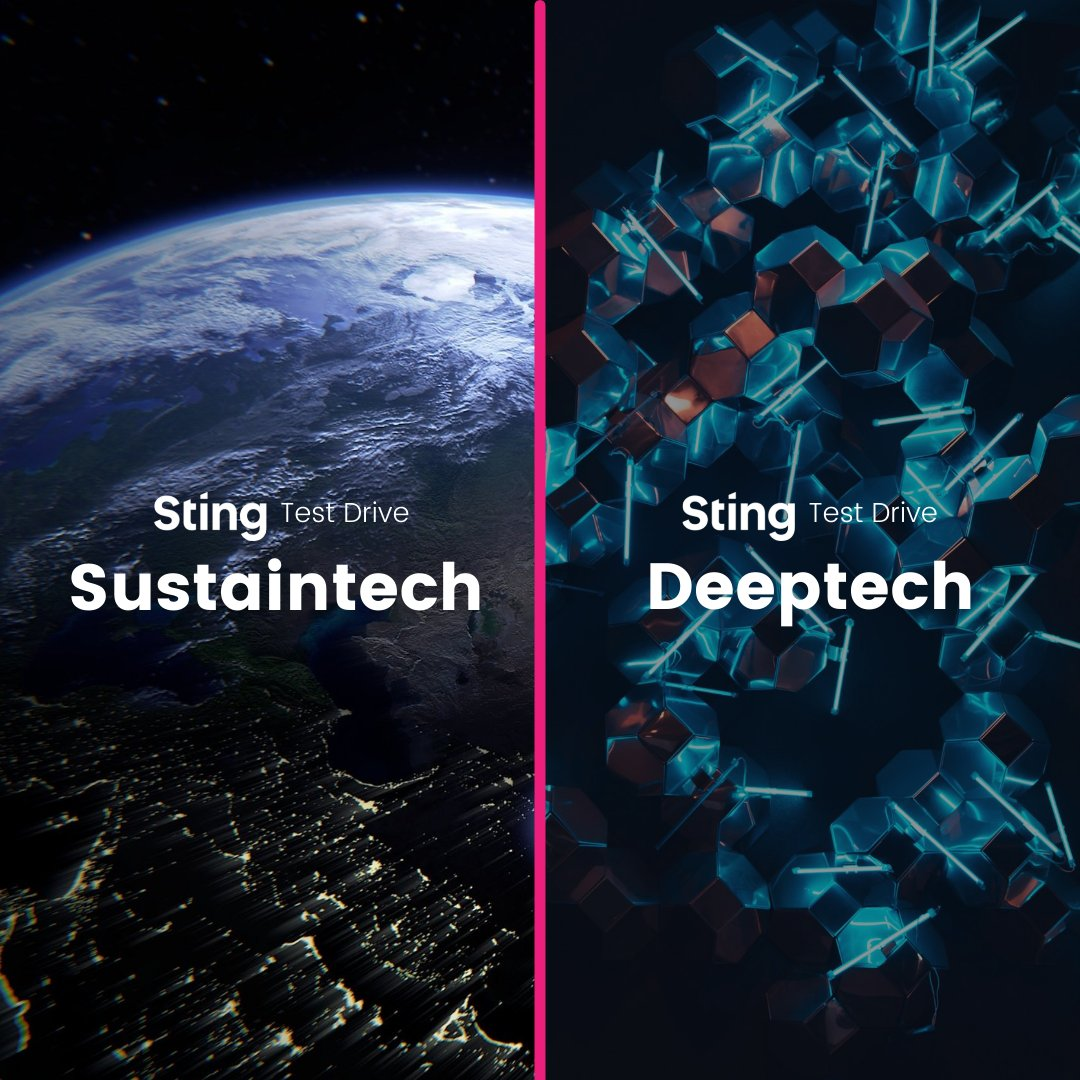 We've just launched two new programs for people with promising ideas and early-stage startups in the #sustaintech and #deeptech space.   🌎 Test Drive Sustaintech: https://t.co/V0s0NecsK4 🤖 Test Drive Deeptech: https://t.co/JkpxjknyWt  Apply by October 17th.  #startup #idea https://t.co/N4WM8Mqif5