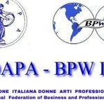 Image for the Tweet beginning: Forum BPW AdrionNet: le donne